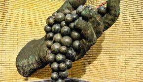 Escultura en Bodegas Vivanco de La Rioja. Foto: placerespr.com