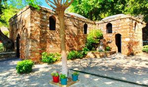 Casa donde vivió sus últimos años la Virgen María en Éfeso. (Foto suministrada)