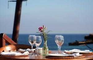 Ibiza desde la terraza dreamstime