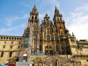 santiago de com postela catedral