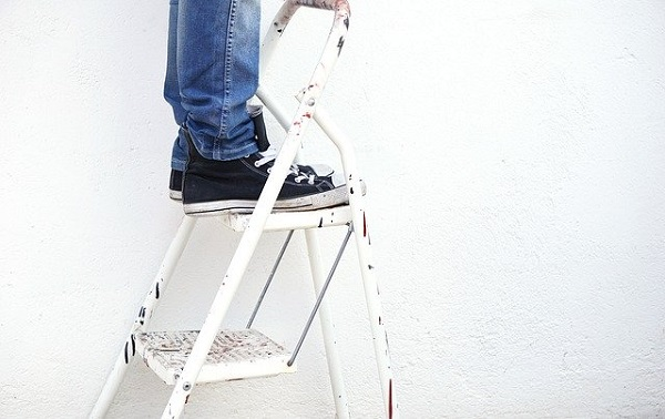 Pixabay Ladder Painter. CCO Creative Commons